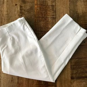 Chico's white crop pants 1.5